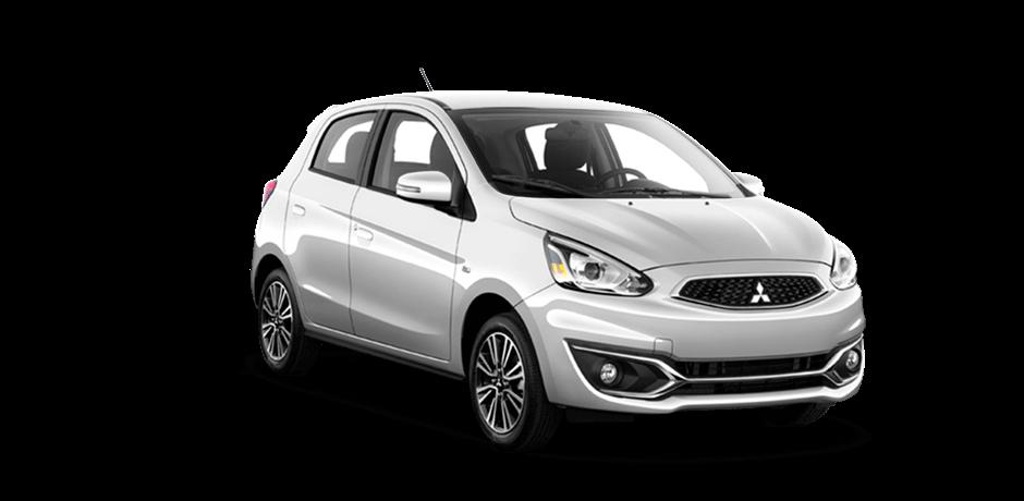 Review Mitsubishi Mirage số sàn 2017 ngoại thất trắng