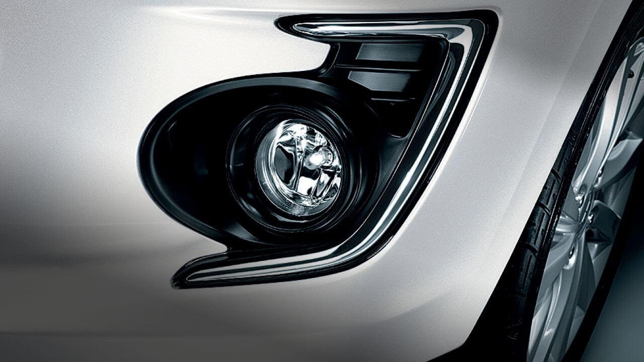 bán xe mitsubishi attrage - đèn viền sương mù hiện đại