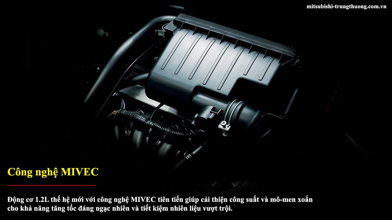Mitsubishi Attrage MT STD trang bị công nghệ MIVEC