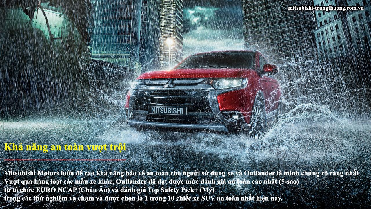 Mitsubishi Outlander 1 cầu 2.0 CVT có khả năng vận hành vượt trội