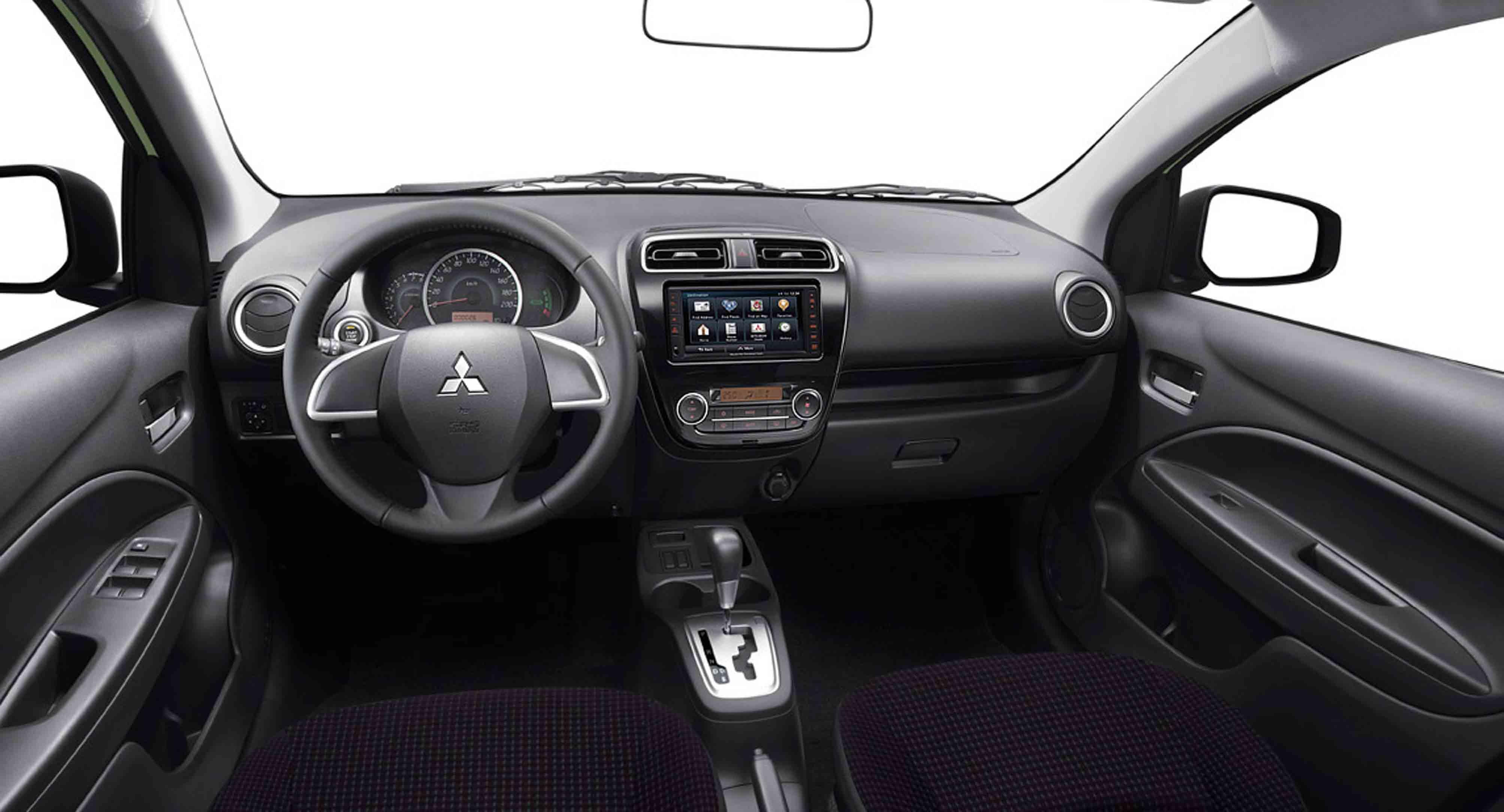 Mitsubishi Mirage MT 2017 thiết kế thon gọn nội thất đầy đủ tiện nghi