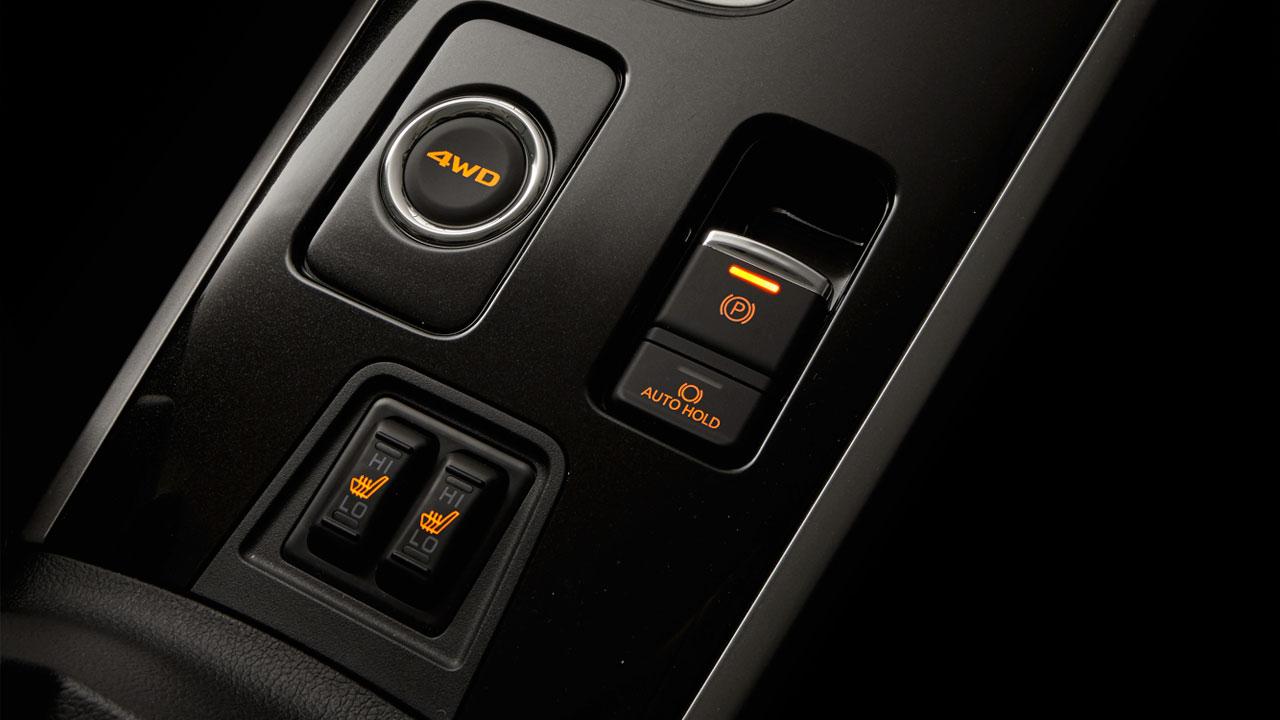 Mitsubishi outlander 2 cầu 7 chỗ 2.4 cvt trang bị phanh tay điện tử