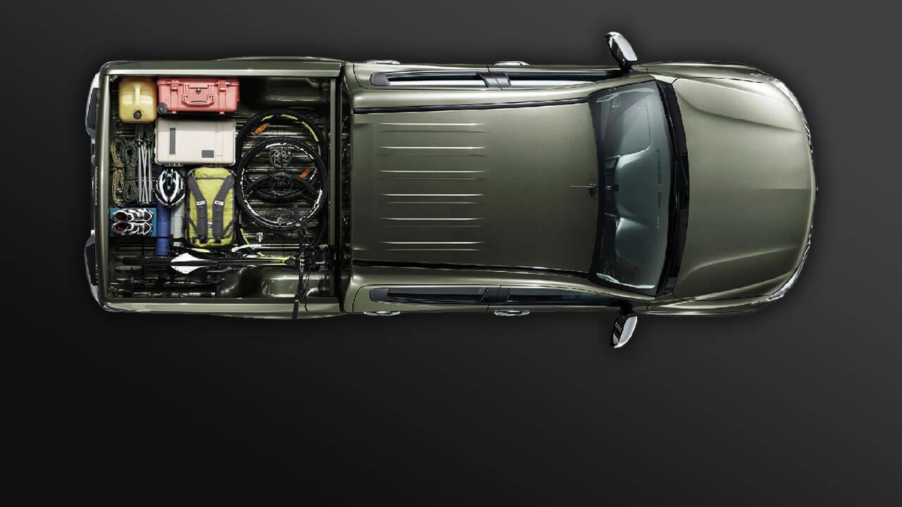 Mitsubishi triton số tự động 2 cầu luôn được tối ưu trọng lượng xe
