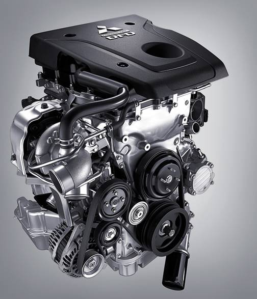 Mitsubishi Triton 2017 MIVEC 1 Cầu động cơ mới