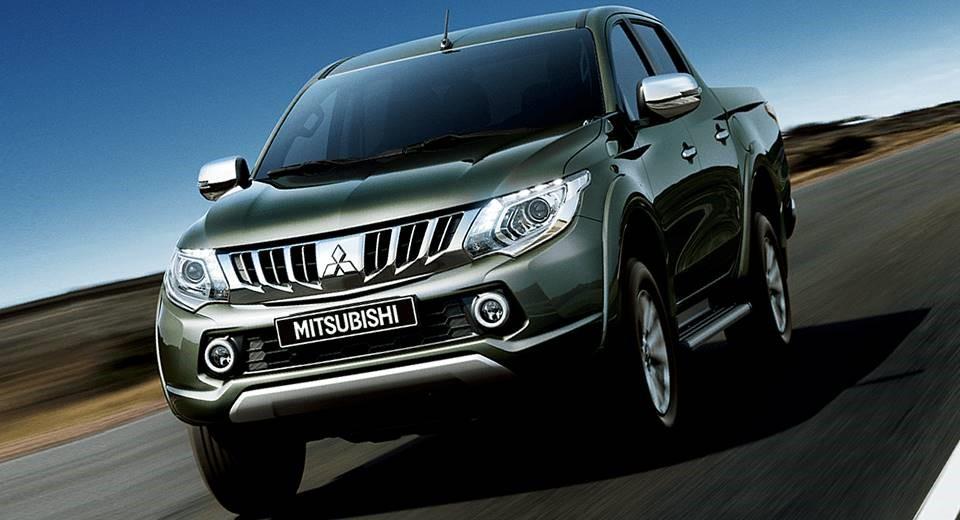 Mitsubishi Triton MIVEC 2 cầu thiết kế mới linh hoạt