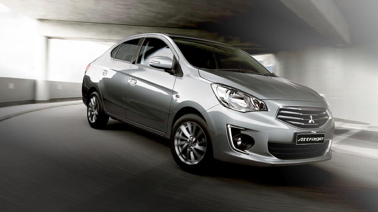 giá xe Mitsubishi Attrage số tự động