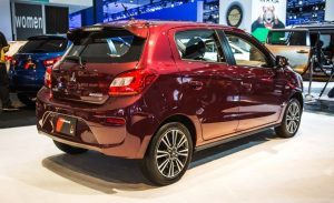 Mitsubishi attrage 2017 review