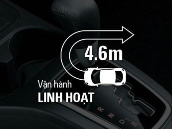 Mitsubishi mirage số tự động có khả năng vận hành