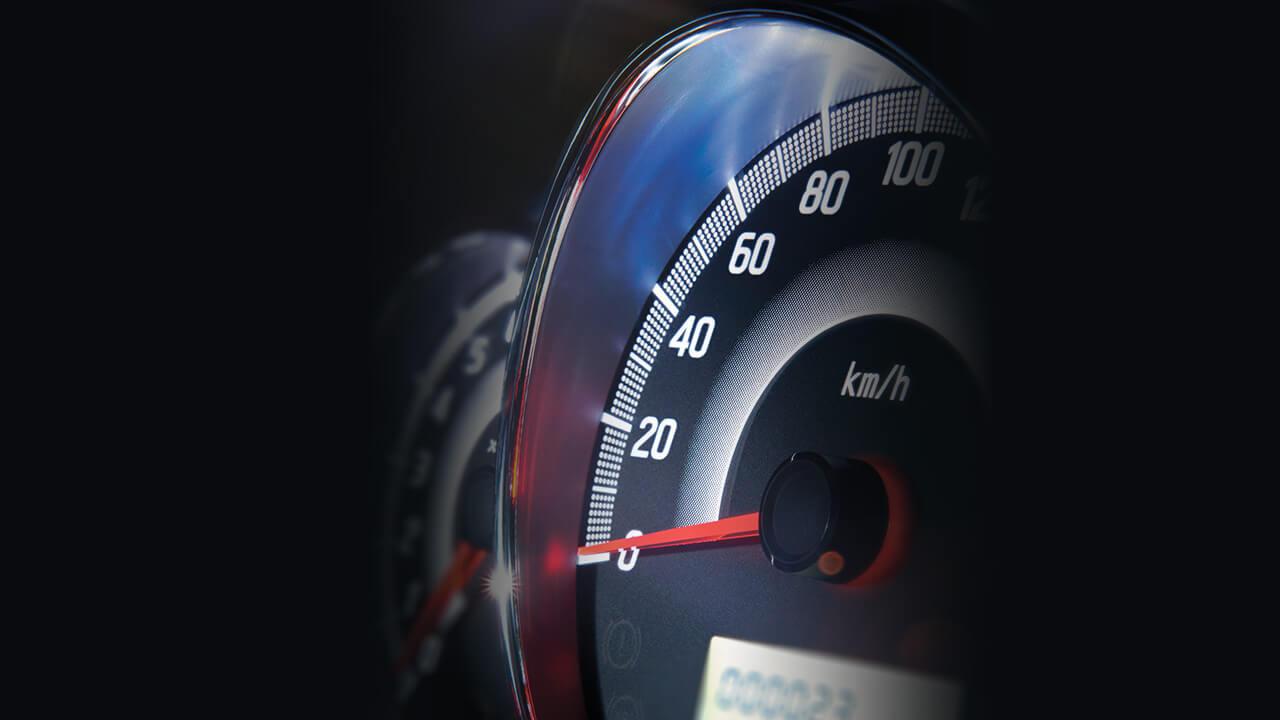 Mitsubishi mirage số tự động cụm đồng hồ hiện đại