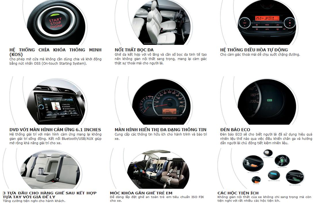 Mitsubishi Attrage 2017 hệ thống đa phương tiện hiện đại
