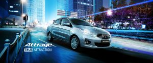 Mitsubishi Attrage 2017 giá tốt