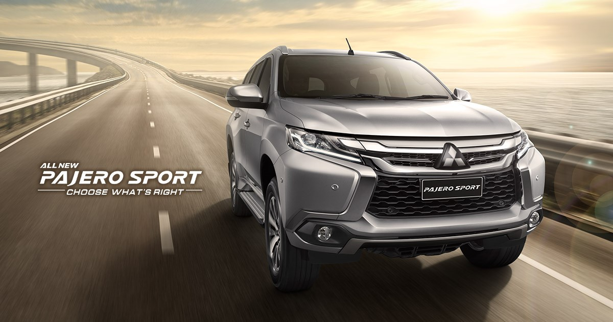 Giá All New Pajero Sport 2018