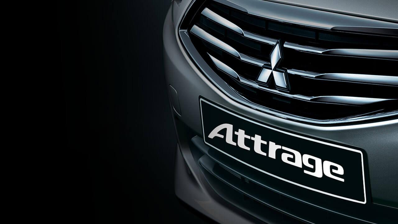 Mitsubishi Attrage 2017 lưởi tản nhiệt mạ crom