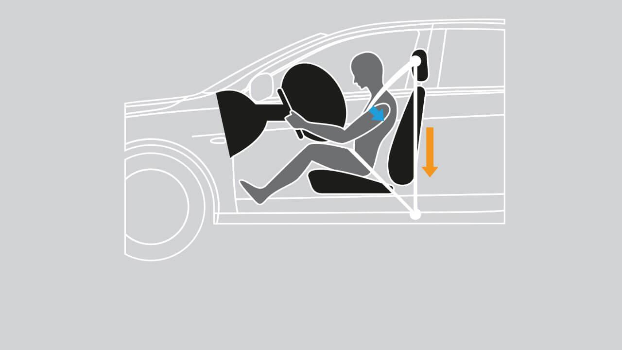 Mitsubishi Attrage 2017 trang bị bàn đạp lái tự đổ