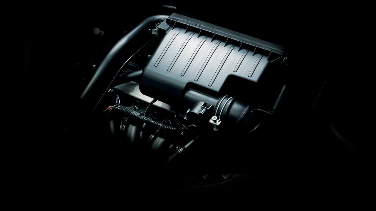 Mitsubishi Attrage 2017 trang bị động cơ 1.2L