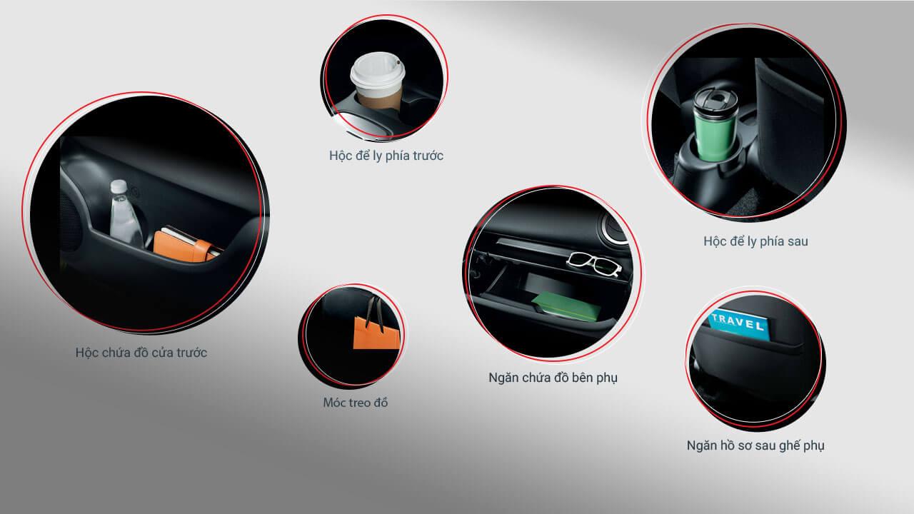 Mitsubishi Attrage 2017 trang bị nhiều tiện tích