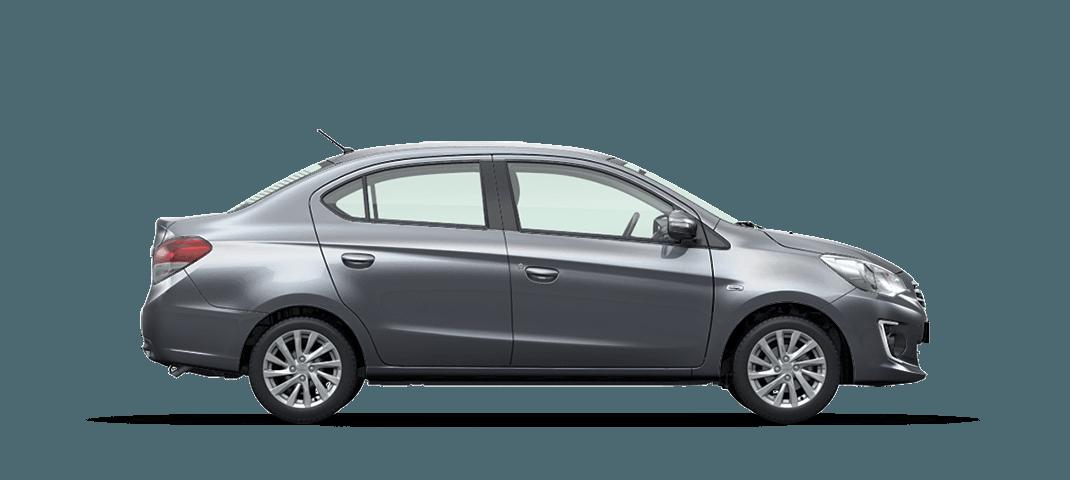 Mitsubishi Attrage màu bạc