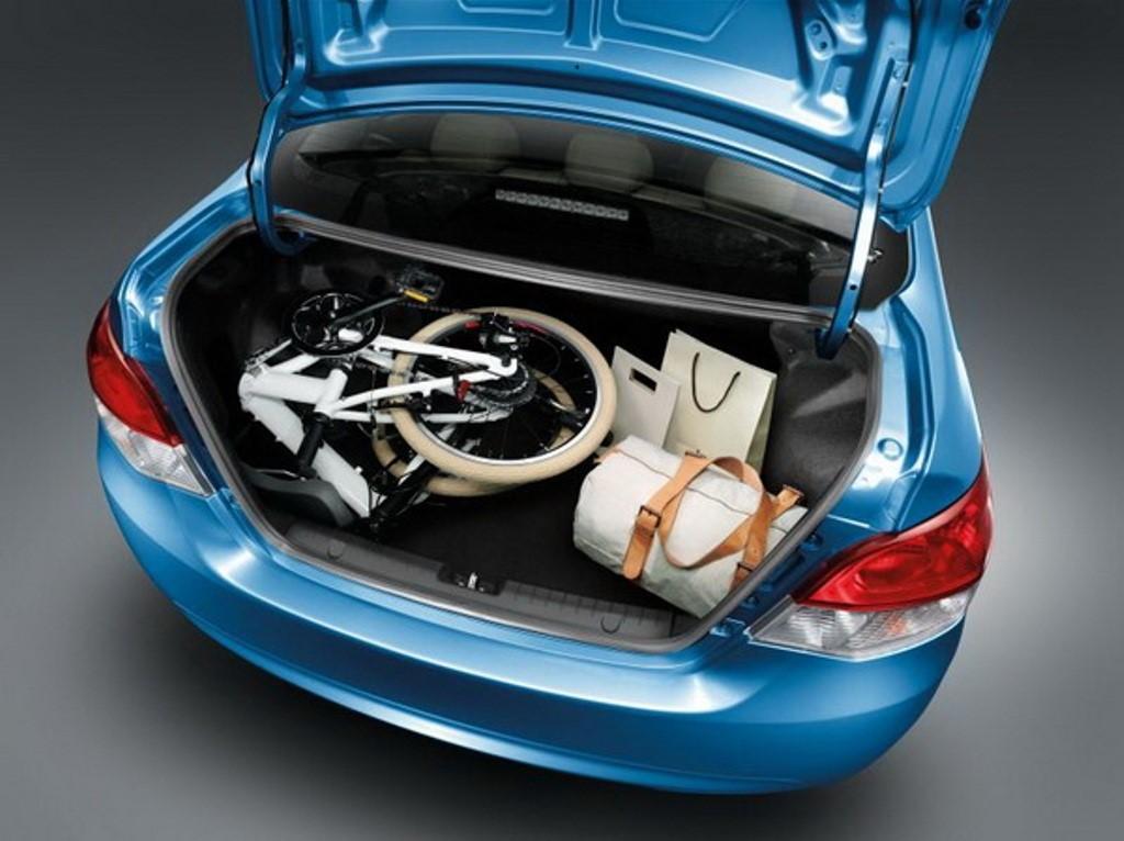khoang hành lý của Mitsubishi Attrage 2018