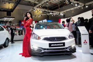Mitsubishi Mirage 2018 có động cơ mạnh mẽ