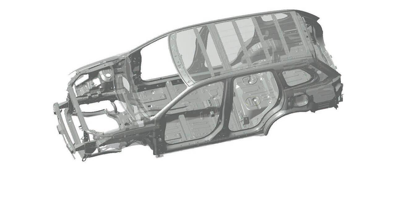 Mitsubishi Outlander 2017 trang bị khung RISE