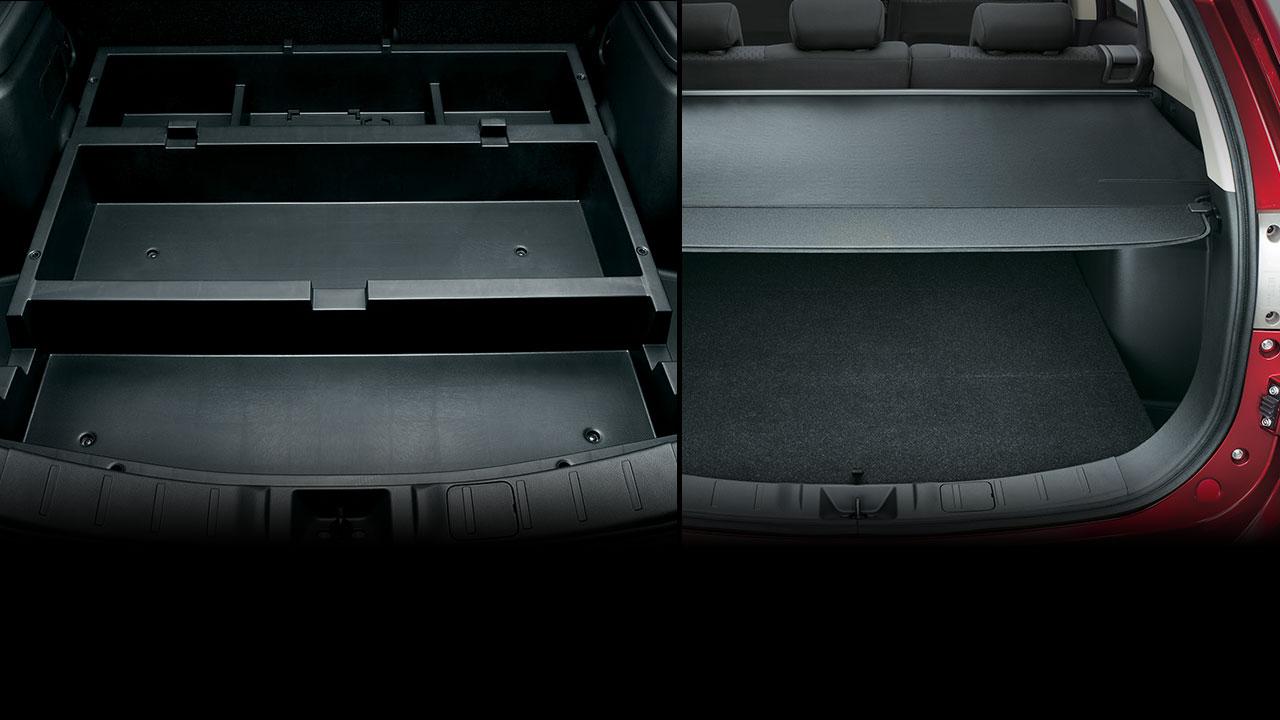Mitsubishi Outlander 2017 có khoang hành lý lớn