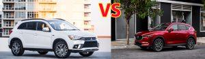 So sánh Mitsubishi Outlander Sport 2018 và Mazda CX-5