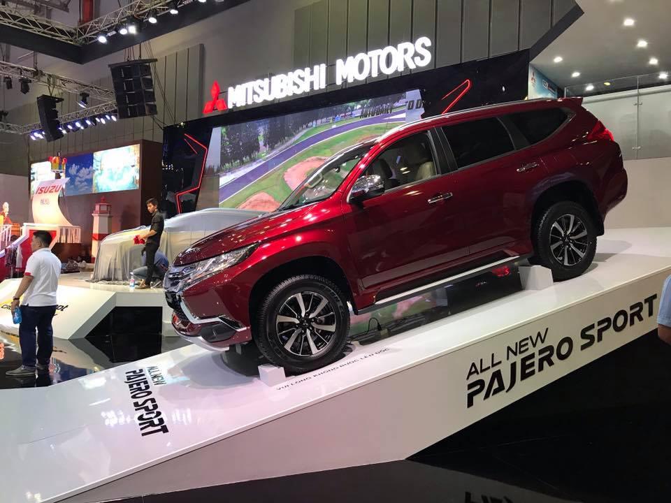 Mitsubishi Pajero Sport 2018 tại Motoshow