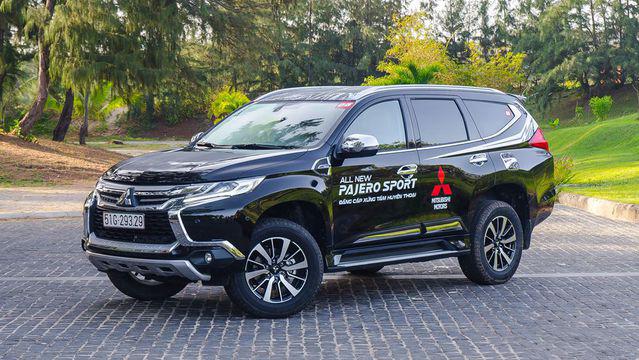 Mitsubishi Pajero Sport 2018 sang trọng đẳng cấp
