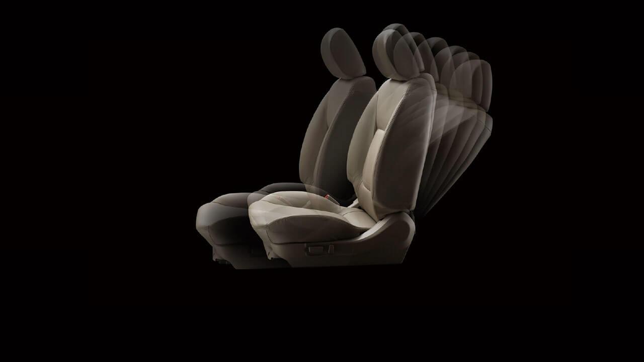 Mitsubishi Triton 2017 ghế được bọc da