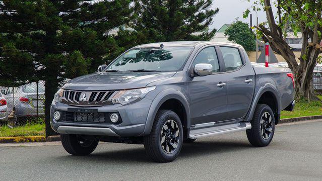 Mitsubishi Triton MIVEC 2018 thừa hưởng thiết kế mới