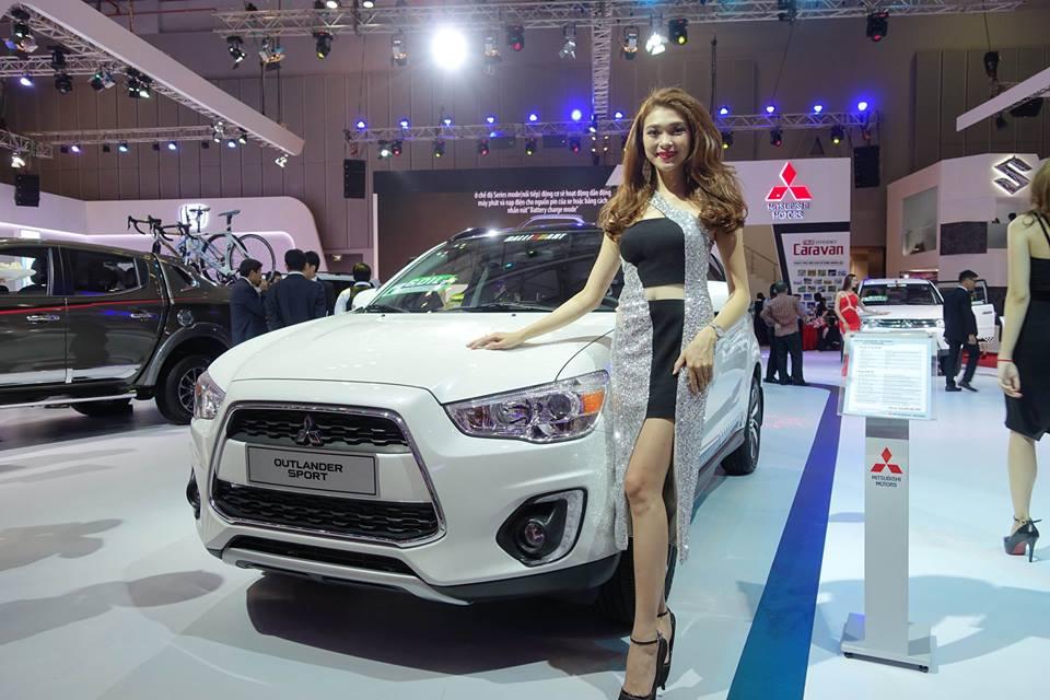 Mitsubishi outlander 2018 thiết kế cực kỳ mới