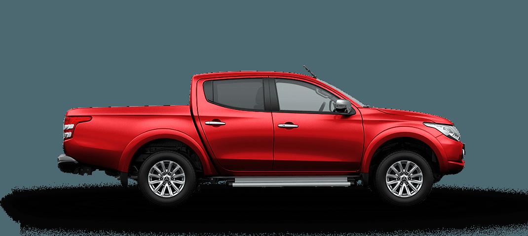 Mitsubishi triton màu đỏ