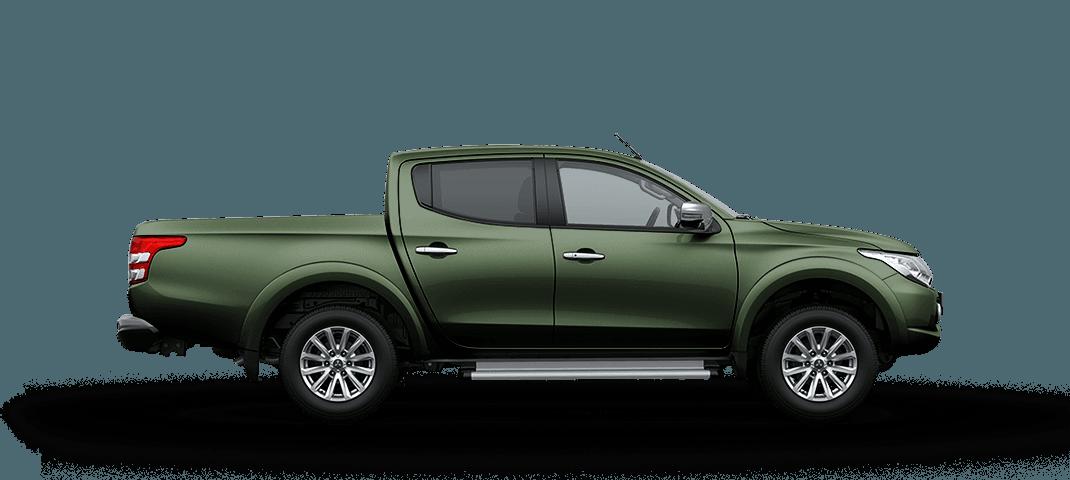 Mitsubishi triton màu xanh