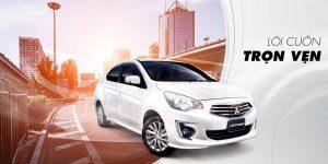Mitsubishi Attrage 2018 mẫu xe sedan tiết kiệm nhiên liệu nhất hiện nay