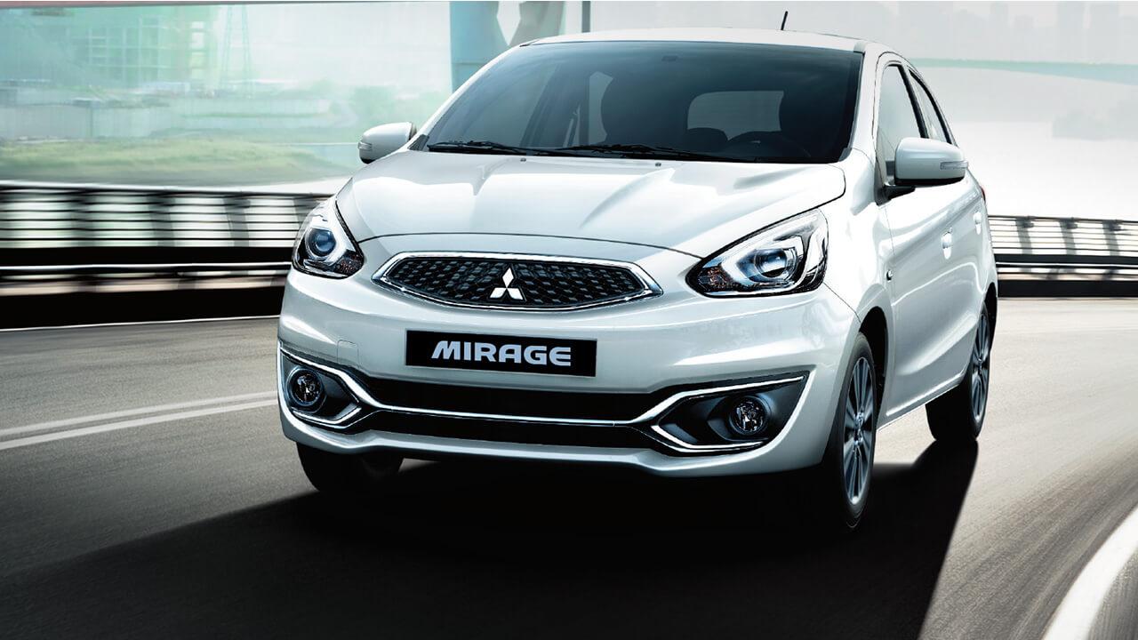 Mitsubishi mirage số tự động hệ thống an toàn đạt tiêu chuẩn