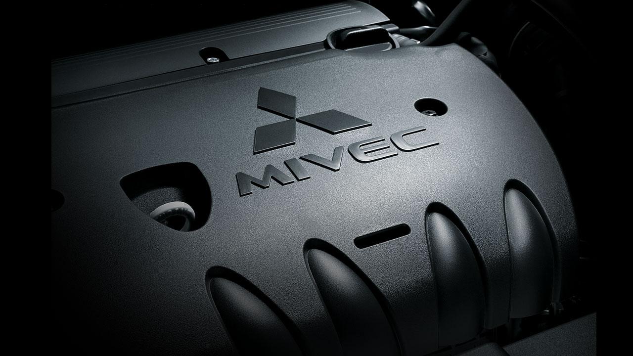 Mitsubishi outlander 2 cầu 7 chỗ 2.4 cvt trang bị động cơ MIVEC