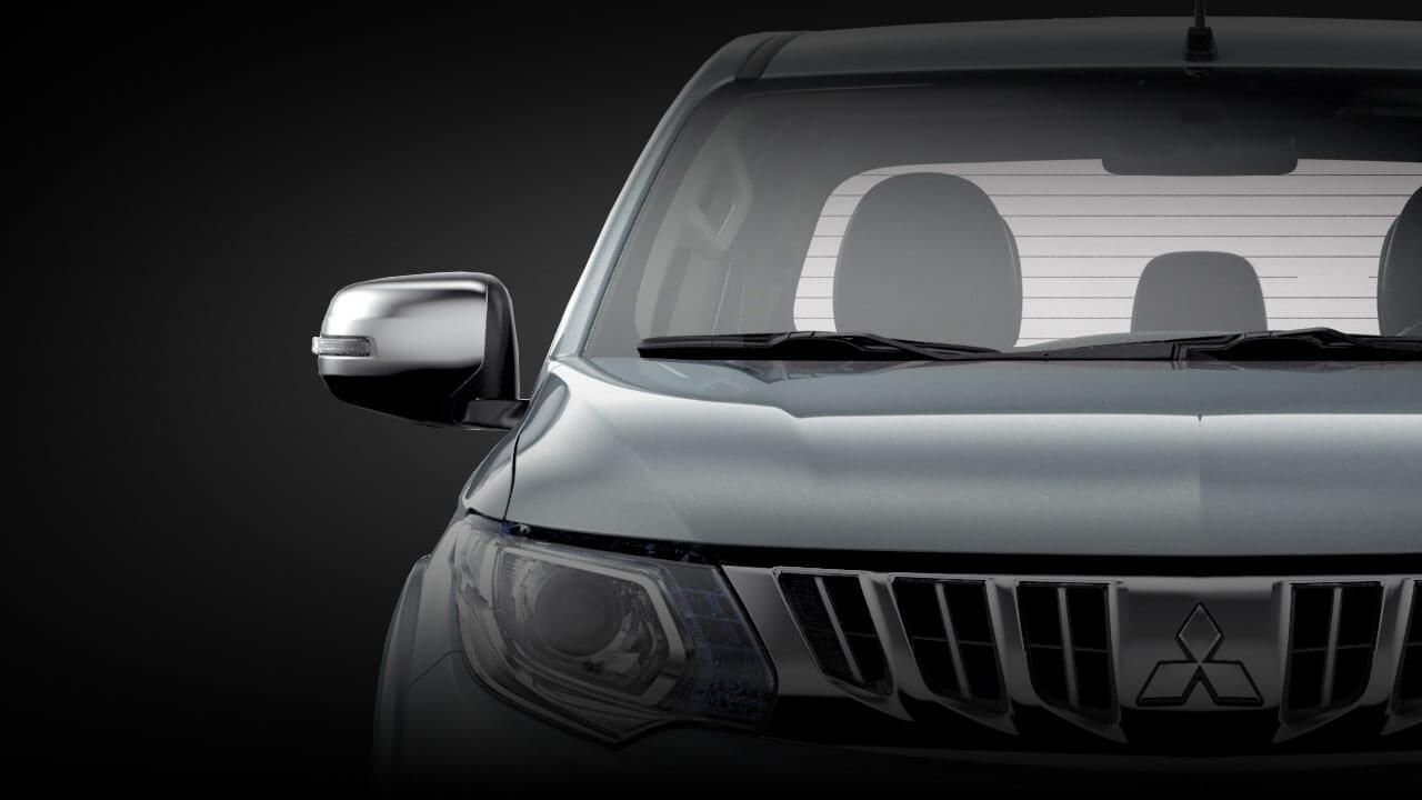 Mitsubishi triton số tự động 2 cầu trang bị gương chiếu hậu gập và tự chỉnh