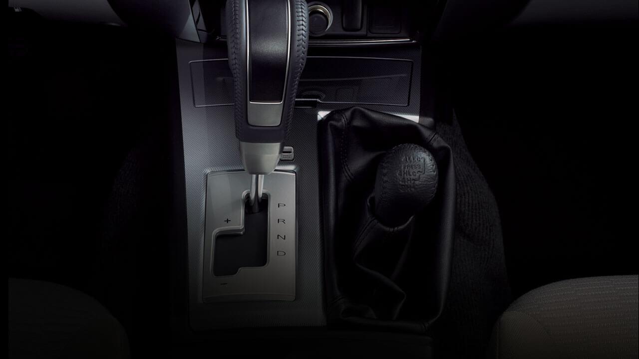 Xe Mitsubishi Pajero Sport máy xăng số tự động trang bị hộp số tự động INVECS-II 5