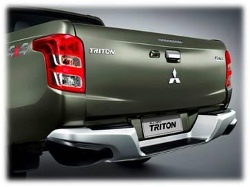 Mitsubishi Triton 2017 MIVEC 1 Cầu đặc điểm đuôi xe