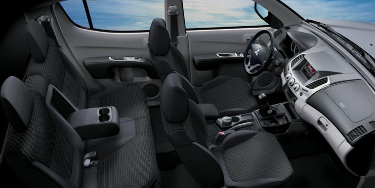 nội thất Xe Mitsubishi Triton 2017 số tự động 2 cầu máy dầu