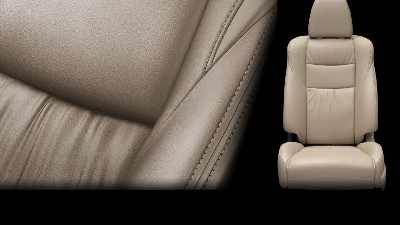 All New Pajero Sport ghế da và ghế lái chỉnh điện