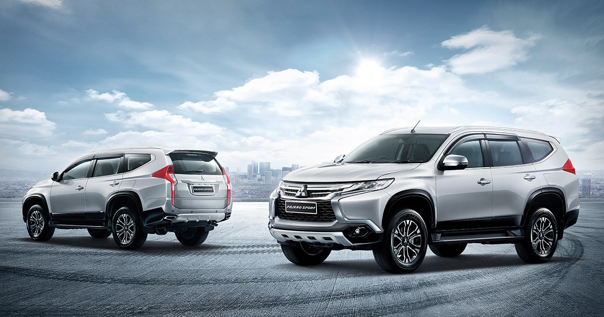 All new Pajero Sport 2018