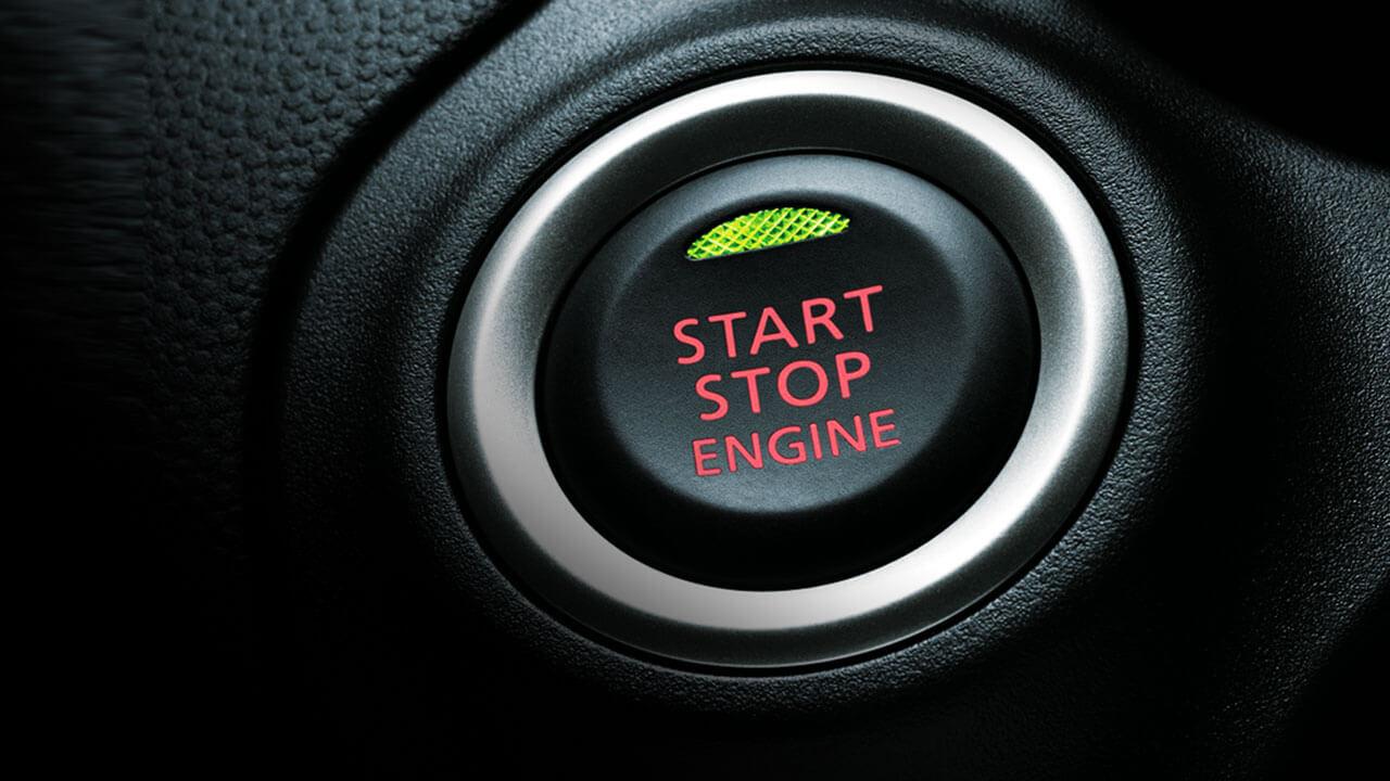 Mitsubishi Attrage 2017 nút bấm khởi động
