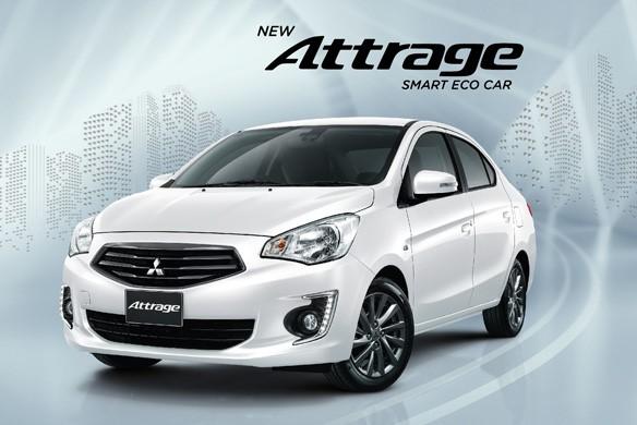 Mitsubishi Attrage 2017 trang bị nút bấm mở cốp sau