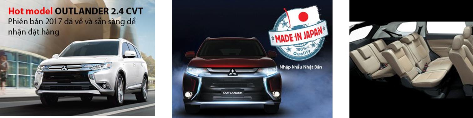 Mitsubishi outloander đặc điểm nổi bật