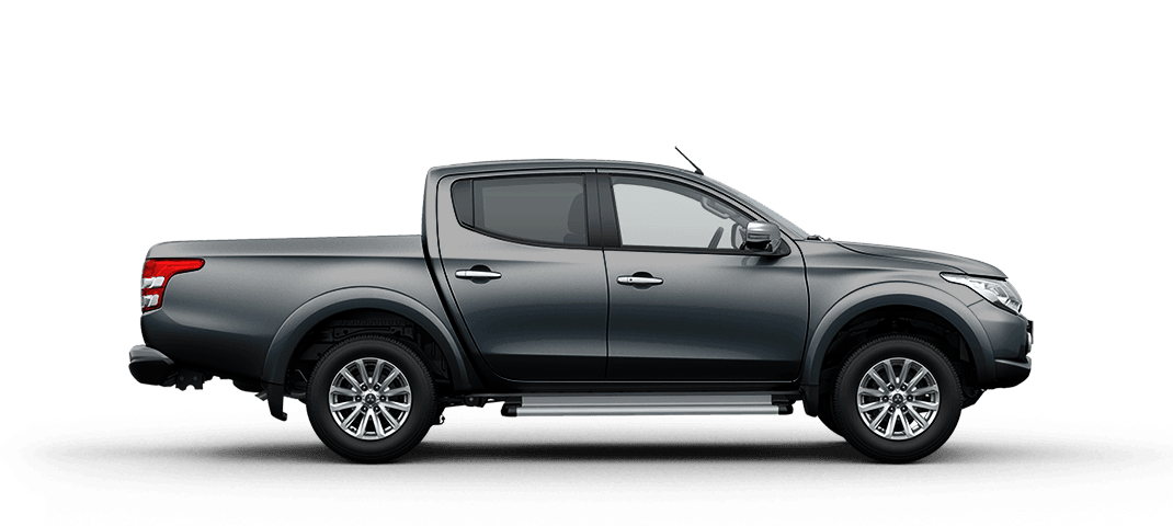 Mitsubishi triton màu xám